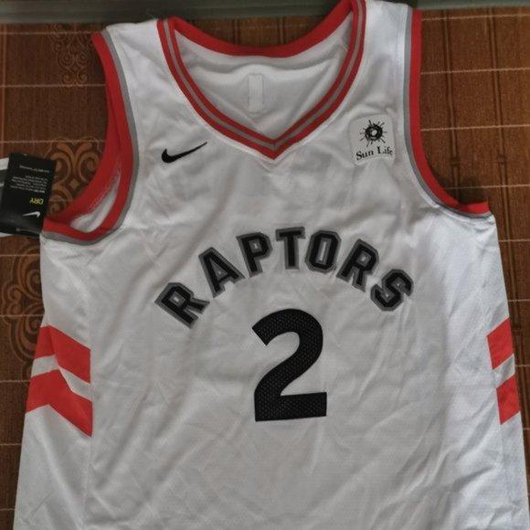 New season Men/'s Shirts Toronto Raptors#2 Kawhi Leonard Basketball jersey white